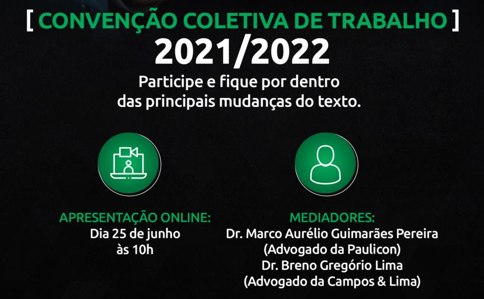 Palestra Convenção Coletiva – Participe!