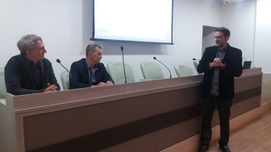 Assessor Especial da Presidência da República visita o Sindisan